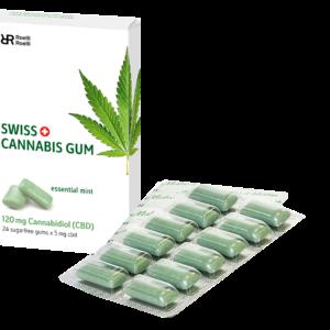 SWISS CANNABIS GUM