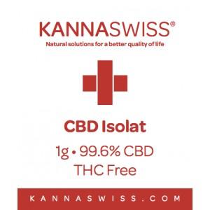 CBD Isolat 1g 99.6% CBD