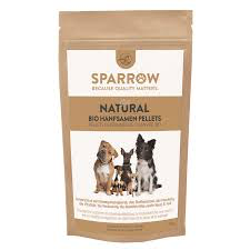 SPARROW PET BIO HANFSAMEN PELLETS
