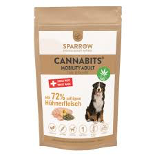 SPARROW Pet CannaBits® Adult Mobility mit Huhn & Kartoffel