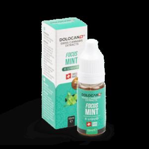 DOLOCAN FOCUS Mint E‑Liquid 10% CBD