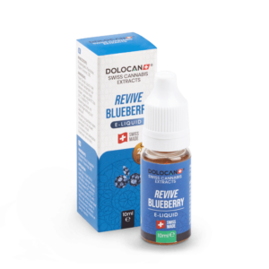 DOLOCAN REVIVE Blueberry E‑Liquid 10% CBD