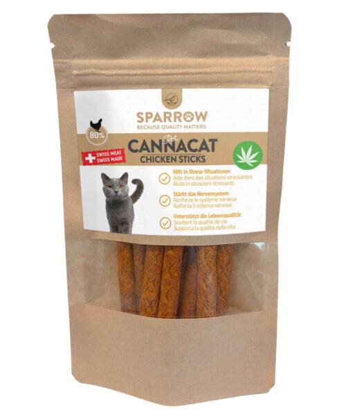 SPARROW Pet_CannaCat_Chicken_Sticks_50g
