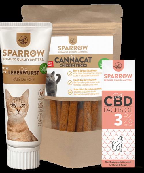 SPARROW Pet Set Katzen