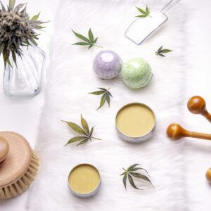 Kosmetik mit CBD und Hanf