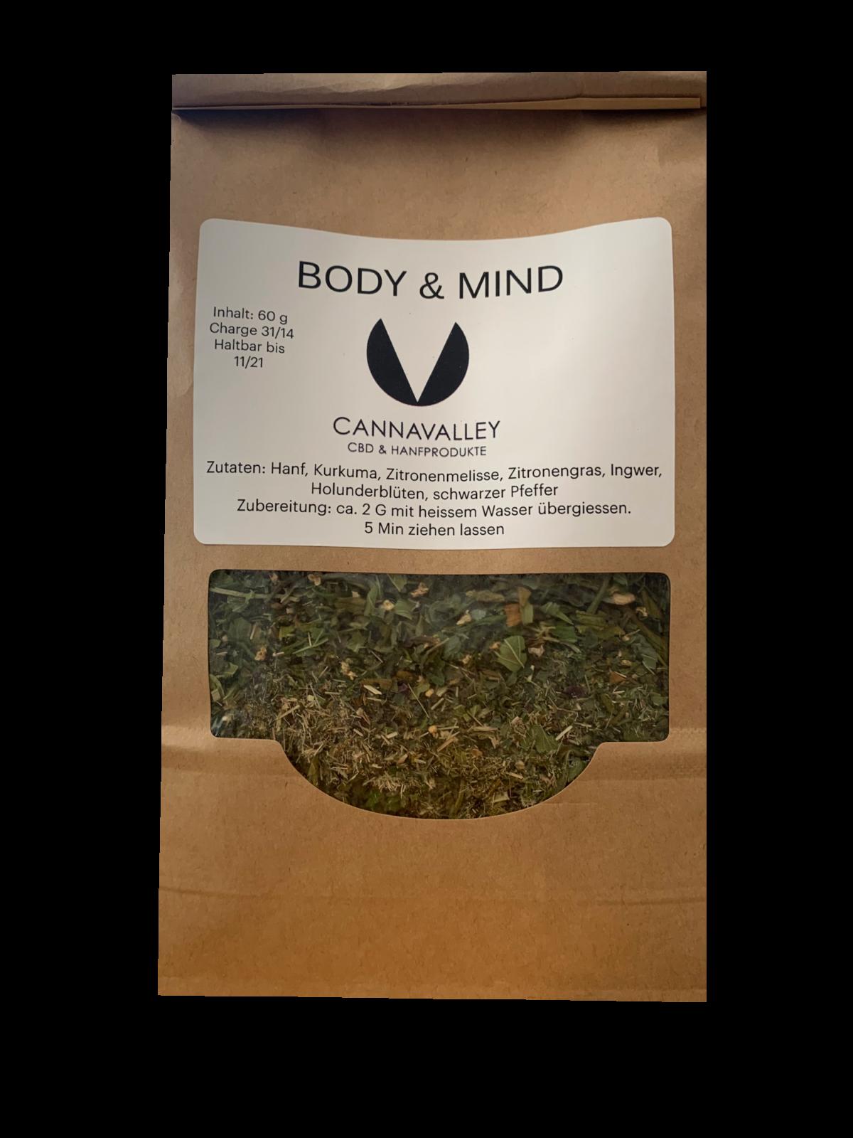 Cannavalley Body-Mind HanfTee
