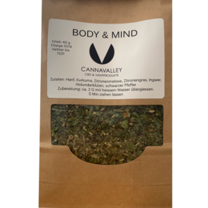 Cannavalley Body-Mind HanfTee
