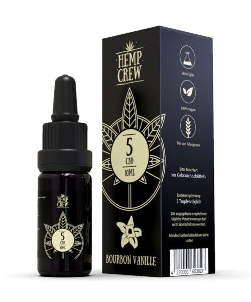 CBD Öl Bourbon Vanille - HempCrew