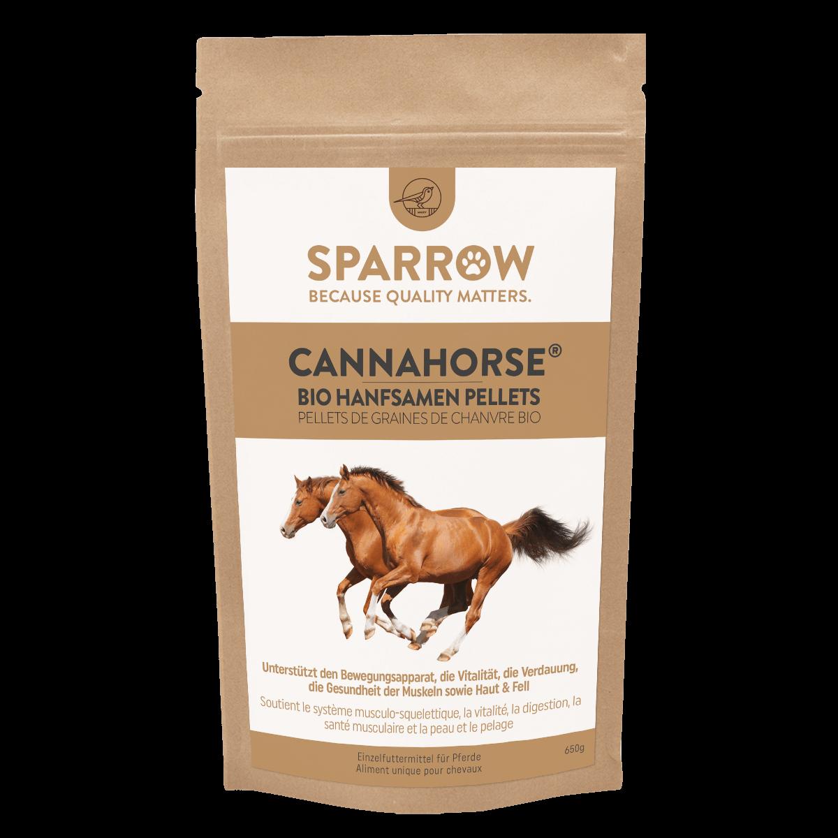 SPARROW CANNAHORSE