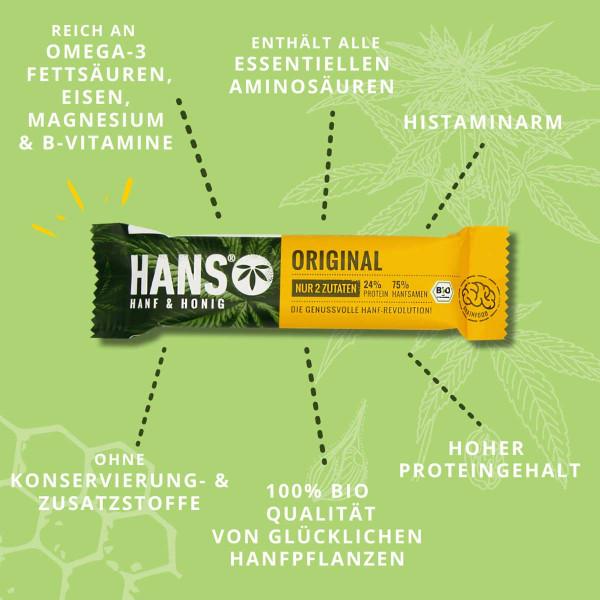 Bio-Hanfriegel Original - HANS Brainfood