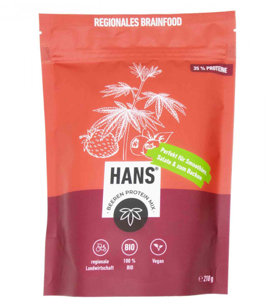 Bio-Beeren Proteinmix - HANS Brainfood